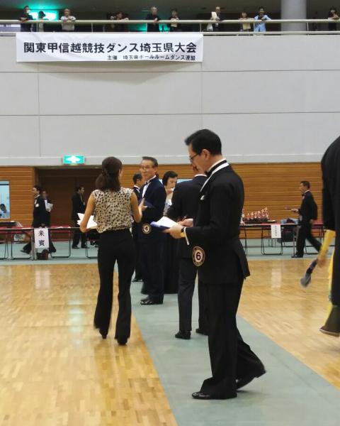 JBDF関東甲信越競技ダンス埼玉県大会