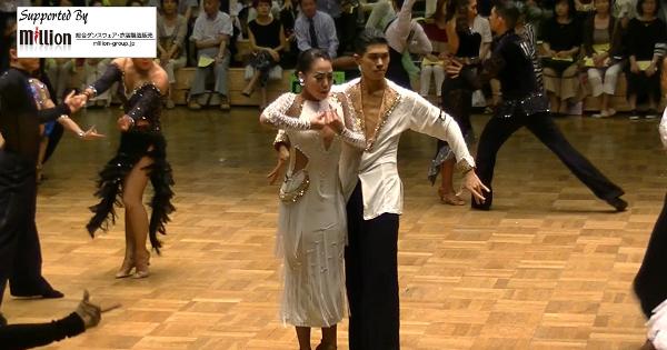 新井洸樹 東部日本ダンス選手権 ルンバ 春日部AKIダンスアカデミー