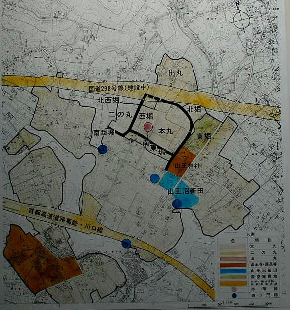 東川口|安行|赤山城|赤山陣屋|お城