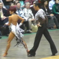 新田アキ 2007年全関東選手権 サンバ