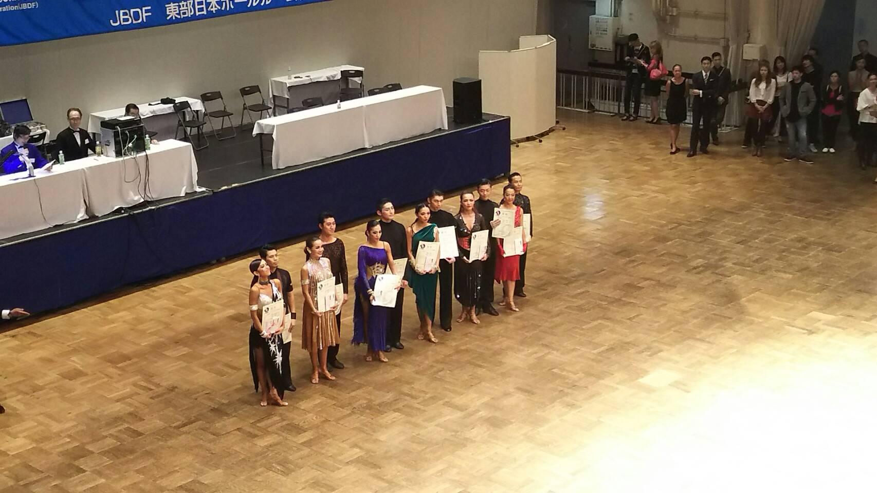 後楽園ホール EJBDF B級プロラテン 速報 結果 2017 後期
