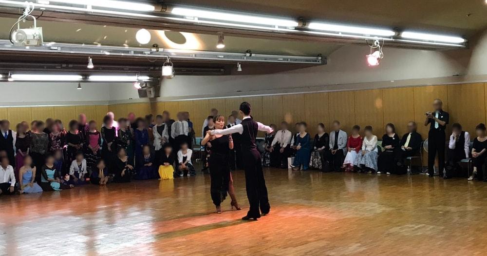 新埼玉統一ルンバ|講習|越谷ポルティコホール|パーティー|社交ダンス