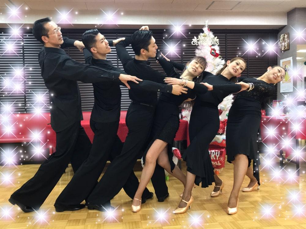 春日部|社交ダンス|クリスマス|パーティー