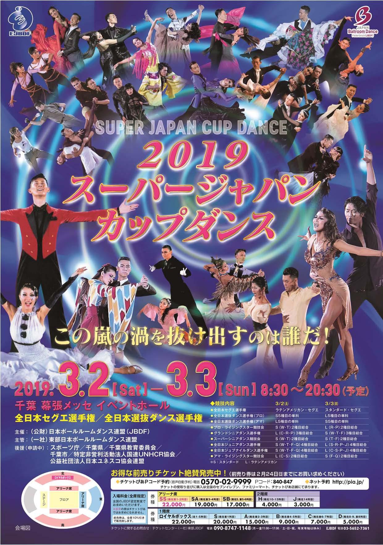 2019年|スーパージャパンカップ|幕張メッセ|JBDF|結果