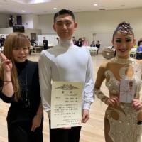金本龍源 JBDF プロ ラテン 社交ダンス