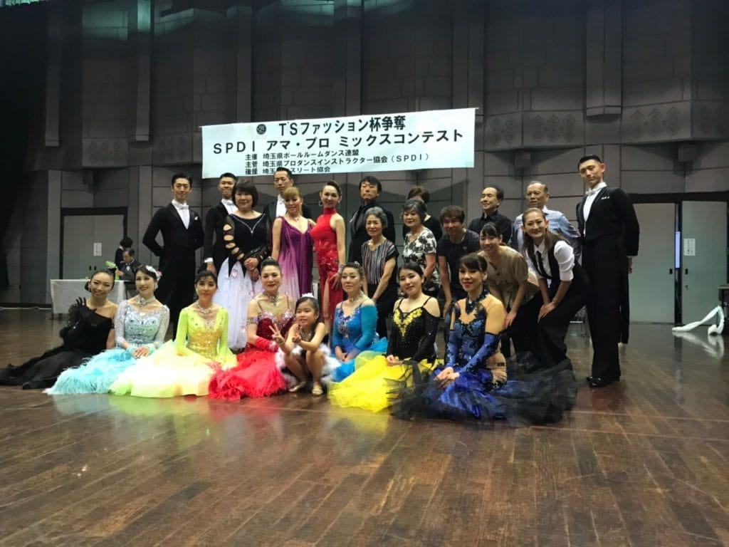 アマ・プロ ミックスダンス|社交ダンス|2019年7月|イコス上尾