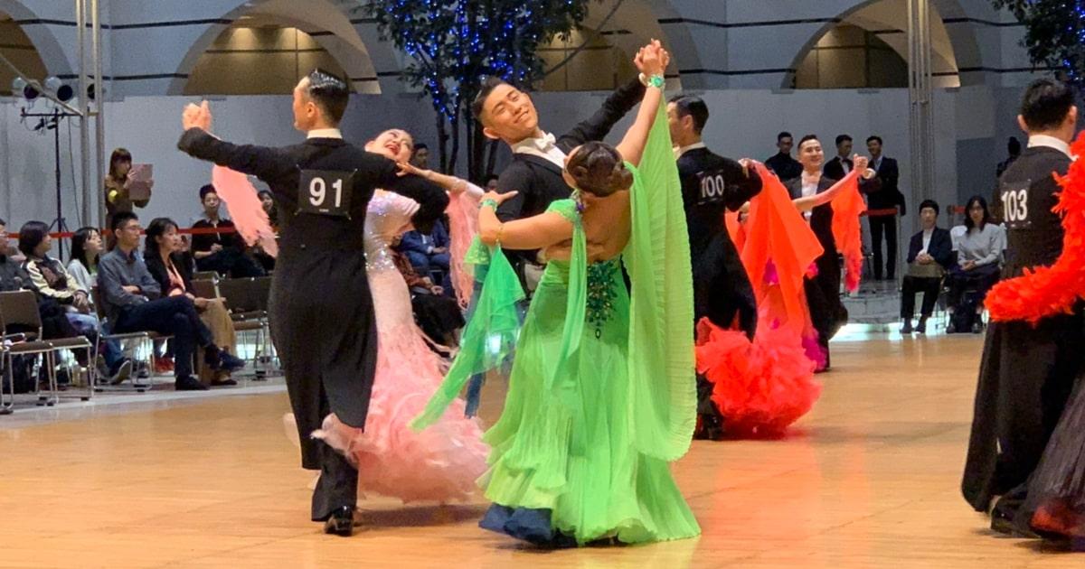金本龍源|B級|昇格|大森ベルポート|社交ダンス