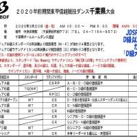 2020年前期関東甲信越競技ダンス千葉県大会