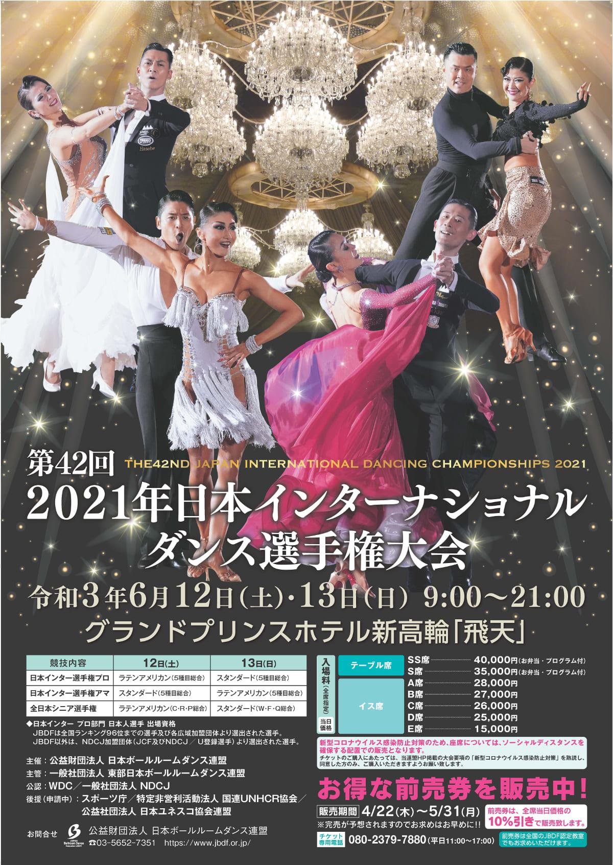 2021|日本インターナショナルダンス選手権大会|グランドプリンスホテル|高輪|飛天|結果